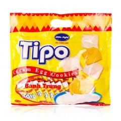 越南进口 Tipo面包鸡蛋牛奶味300g饼干零食糕点 奶香浓郁 香酥可口 大包分享装